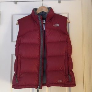 Girls Northface Puffy Vest
